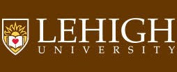 Lehigh University logo with brown background