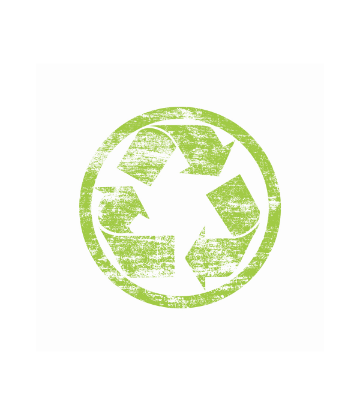 SCS, image of a green circular recycling symbol