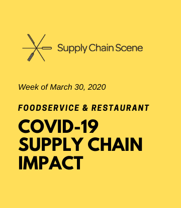 SCS, Yellow text box with logo - COVID-19 Supply Chain Impact Coverage