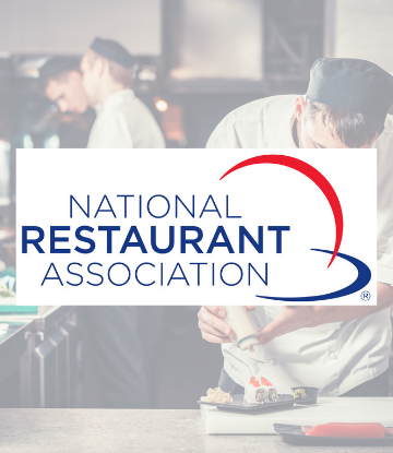 SCS, logo of the National Restaurant Association