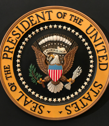 SCS, seal of the president of the United States