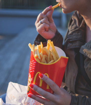 Supply Chain Scene, image of McDonald's french fries